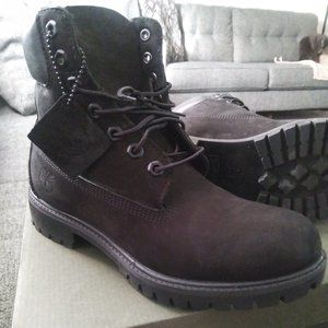 fresh black timberland boots